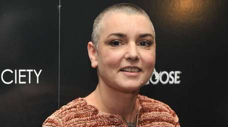 Sinéad O'Connor at the Museum of Modern Art
