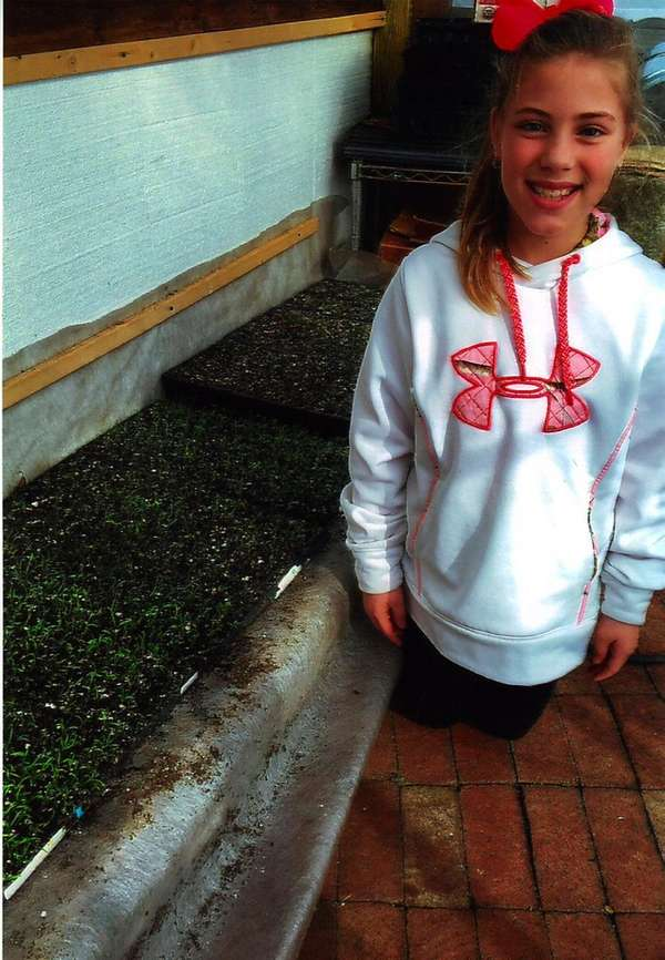 Kidsday reporter Hailey Gifford learns about organic gardening.