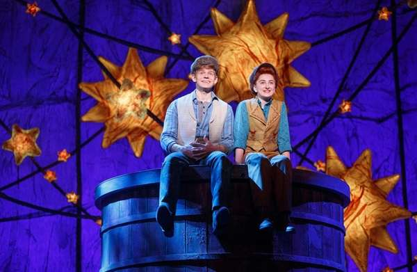 Andrew Keenan-Bolger and Sarah Charles Lewis star in