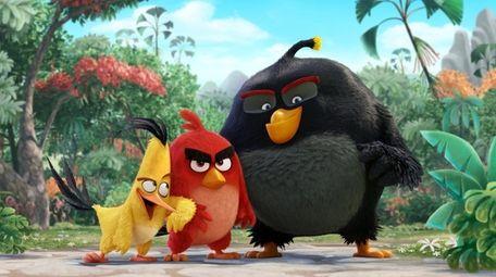 Chuck (voiced by Josh Gad), Red (Jason Sudeikis)