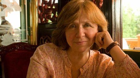 Svetlana Alexievich, winner of the 2015 Nobel Prize