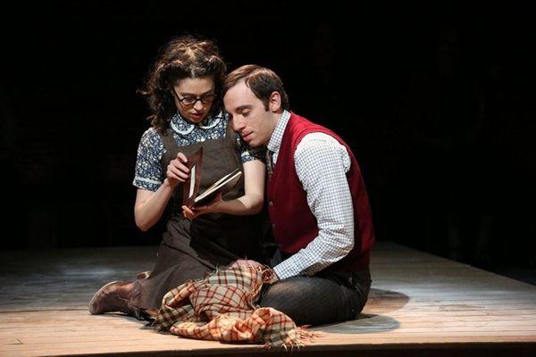 Adina Verson and Max Gordon Moore in