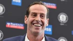 The Brooklyn Nets new head coach Kenny Atkinson