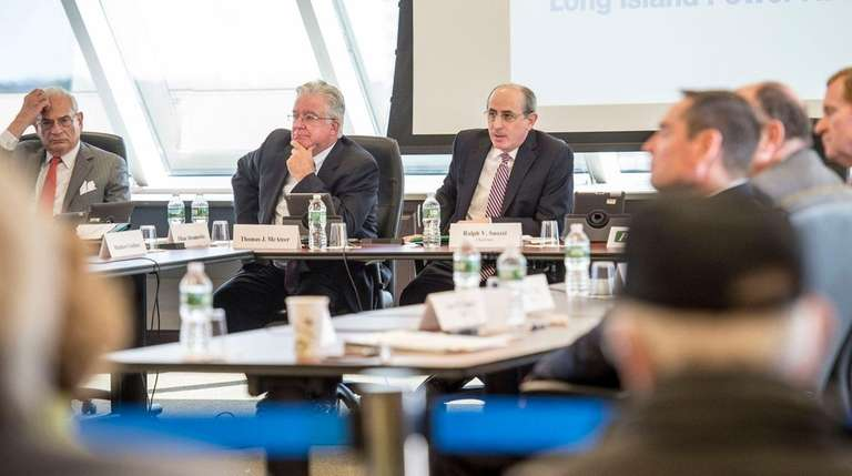 Members of the Long Island Power Authority board