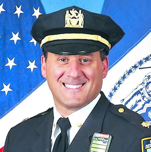 Michael Ameri, commanding officer of the NYPD's Highway