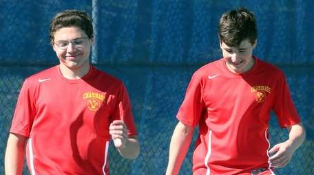 Chaminade's Dylan Jankowski and Cole Seccafico, pictured, defeated
