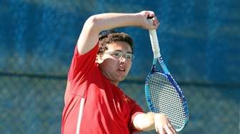 Chaminade's Dylan Jankowski, pictured, and Cole Seccafico defeated