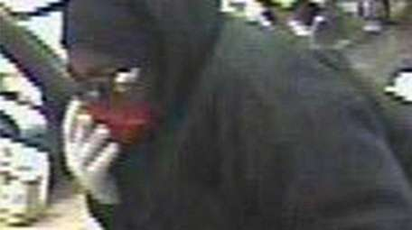 Nassau County's masked, knife-wielding robber struck again early