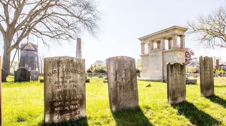 On July 16, 2016, an historical cemetery tour