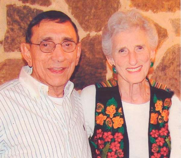 Phillip and Edna Ritzenberg of Woodmere have been