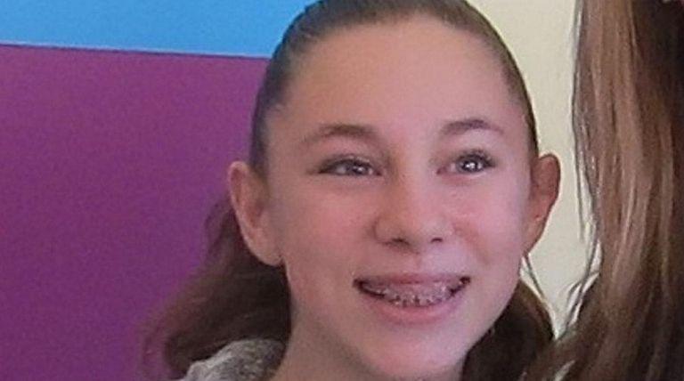 Jacqueline Paduano, a sixth-grader at East Lake Elementary
