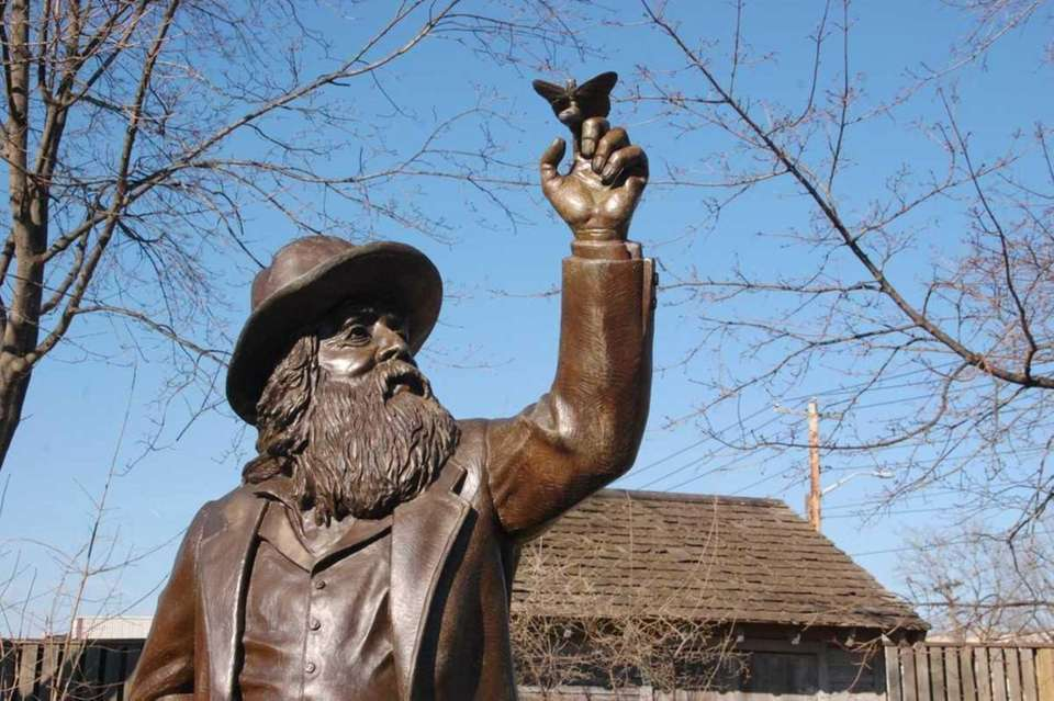 In 2011, this statue of Walt Whitman with