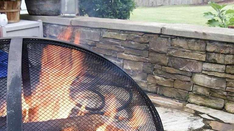A fire pit can create the perfect spot