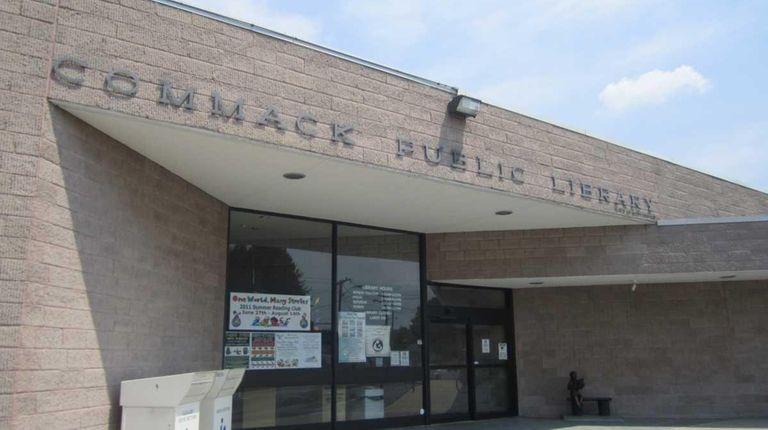 Commack Public Library is seen on July, 18,