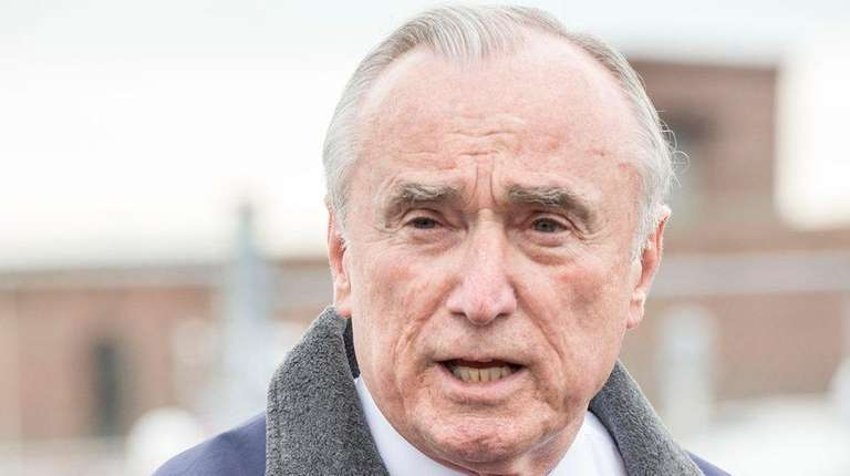 NYPD Police Commissioner William Bratton said Tuesday the