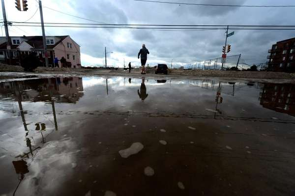 Homeowners coping with damage from superstorm Sandy can