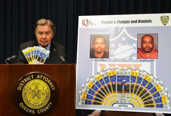 Queens District Attorney Richard A. Brown said Tuesday