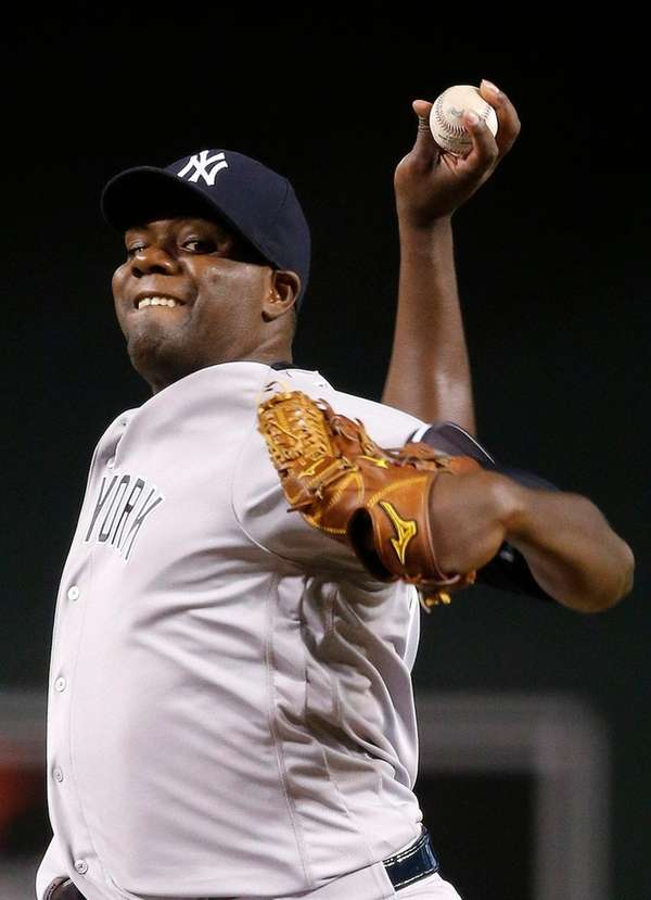 Yankees starter Michael Pineda allowed five runs and