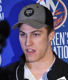 New York Islanders center Anders Lee speaks to
