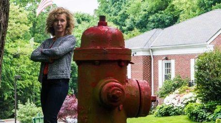 Flower Hill Mayor Elaine Phillips on May 23,