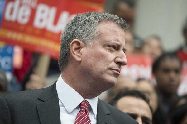 Mayor Bill de Blasio on Oct. 23, 2013.