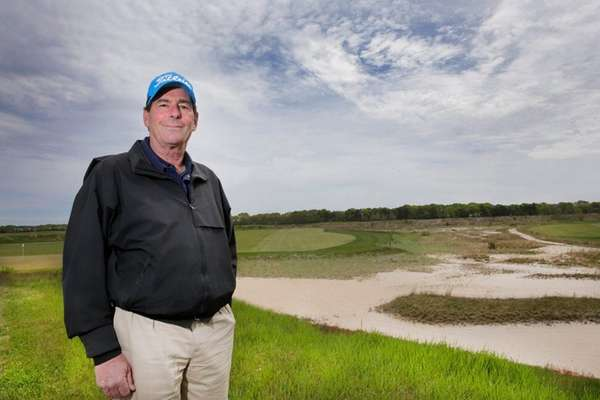 Tallgrass pro Larry Menne says its business as