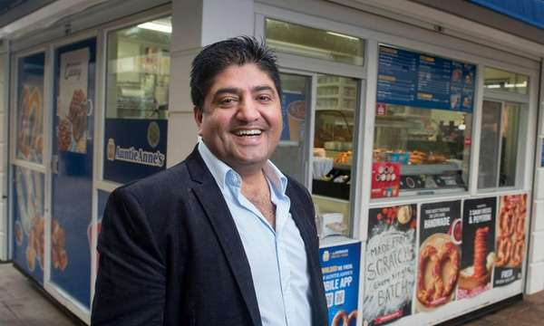 Auntie Anne's franchise owner Raj Whadwa in April
