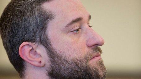 Dustin Diamond waits for his preliminary hearing at