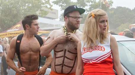 Zac Efron and Seth Rogen return for