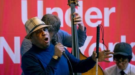 Frank Senior, 63, of Harlem auditions with his