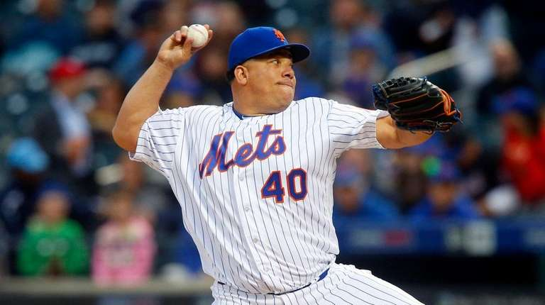 Bartolo Colon lacked his usual command as he