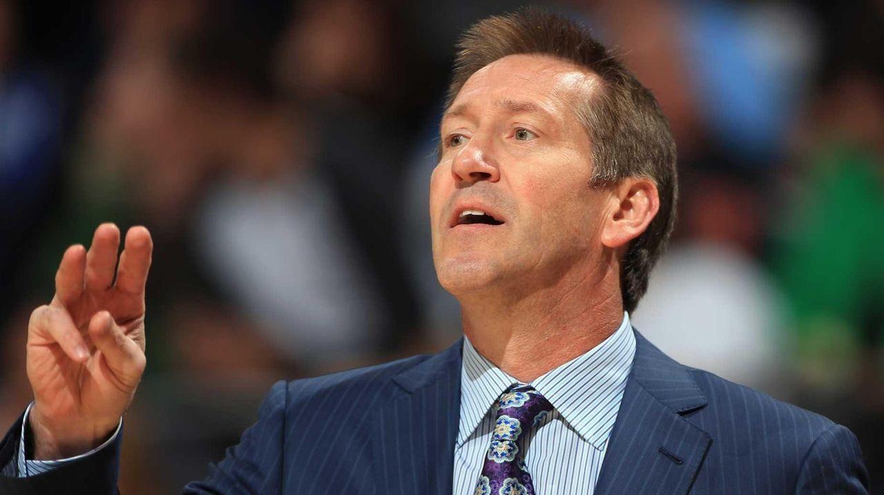 Head coach Jeff Hornacek of the Phoenix Suns