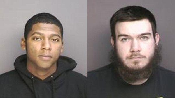 Kerry J. Nash, 19, left, and Matthew F.