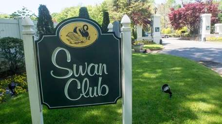 The Swan Club, a Roslyn event venue, will