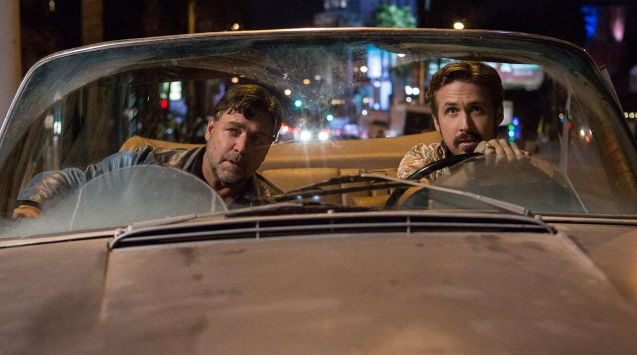 Russell Crowe, left, and Ryan Gosling team up