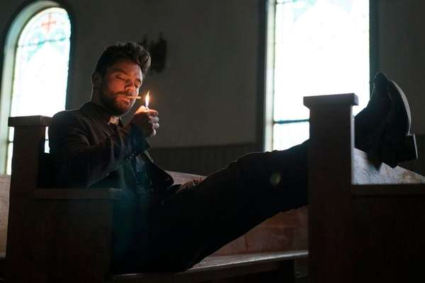 'Preacher' review: Seth Rogen's dark TV adaptation works best on the pages | Newsday