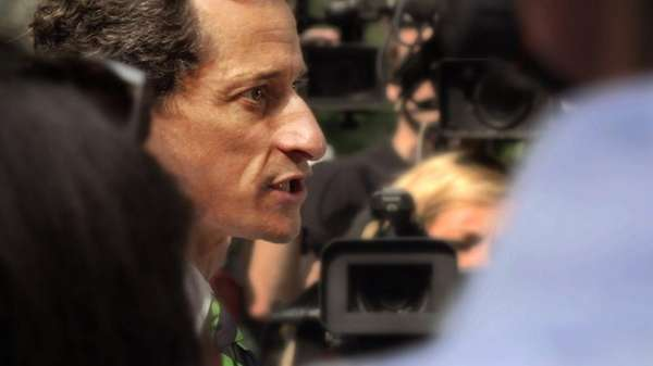 Fallen politician Anthony Weiner let filmmakers Josh Kriegman