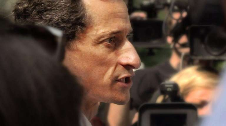 Fallen politician Anthony Weiner let filmmakers Josh Kriegman