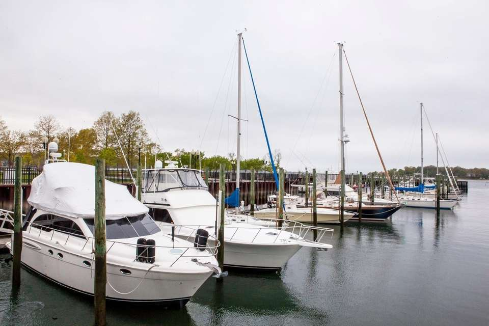 Theodore Roosevelt Marina in Oyster Bay, May 6,