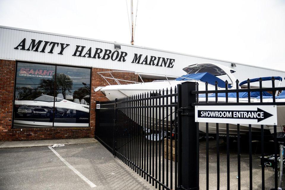 Amity Harbor Marine in Amityville, Monday, May 9,