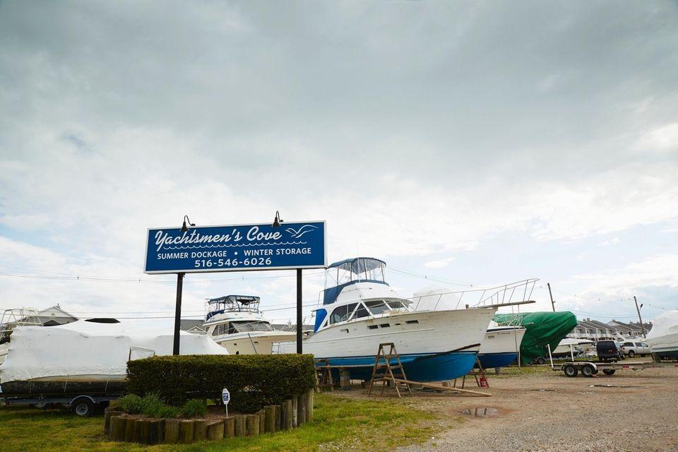 Yachtsmen's Cove Marina, Freeport, May 16, 2016.