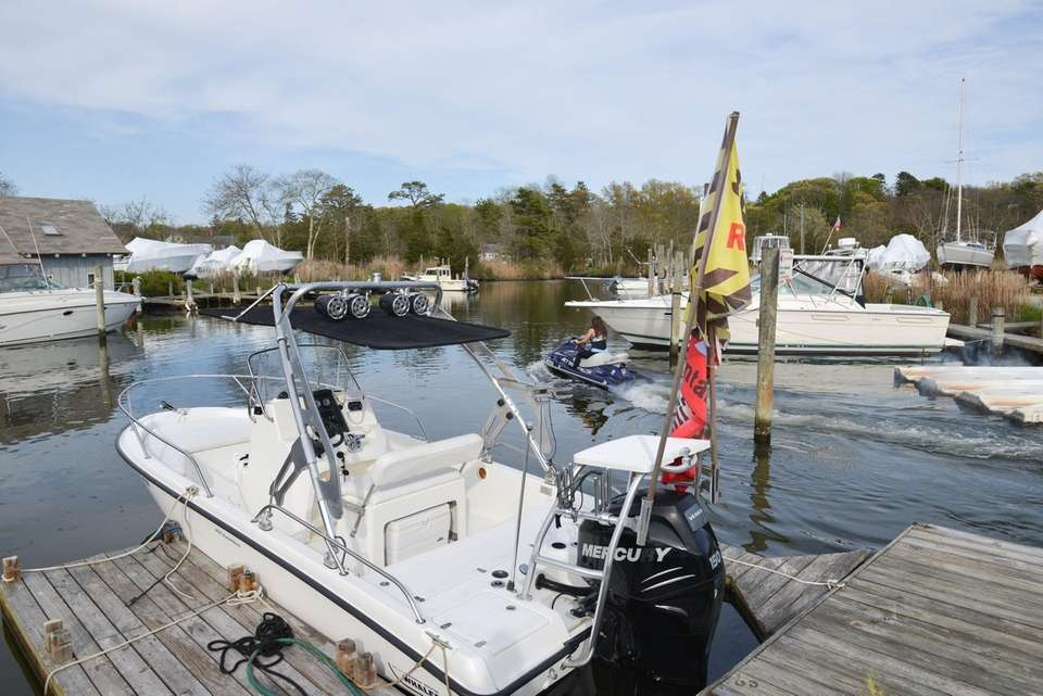 The Beaver Dam Boat Marina in Brookhaven offers