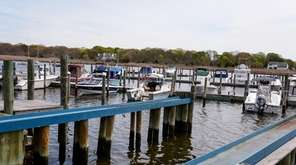 Morgan's Swan River Marina in Patchogue, Tuesday, May