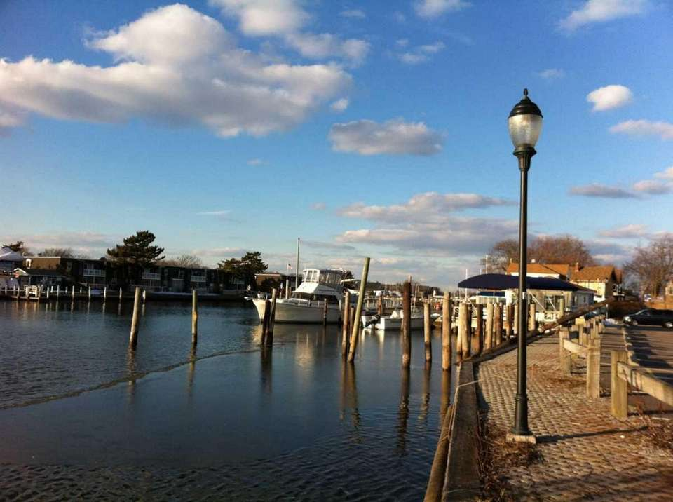 The marina is on Brightwood Street, Patchogue, 631-475-1592,