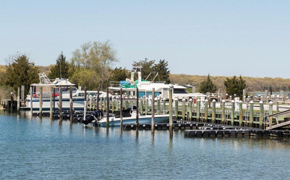 Gardiner's Marina at 35 Three Mile Harbor-Hog Creek