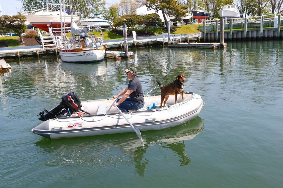 Brewer Stirling Harbor Marina in Greenport on Thursday,