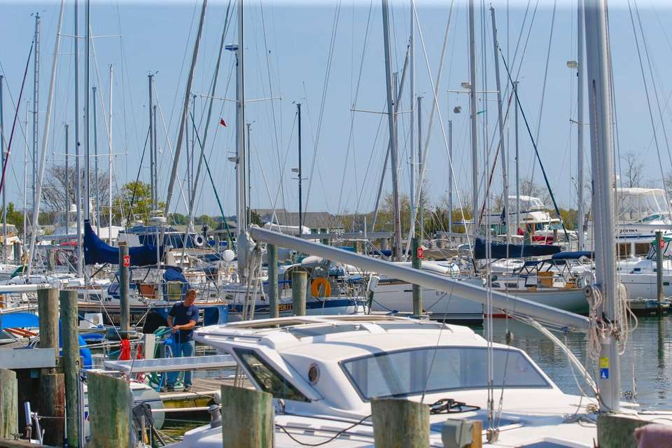 Brewer Yacht Yard in Greenport on Thursday, May