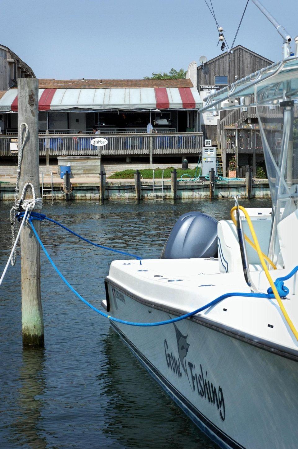 Gone Fishing Marina, 467 East Lake Dr., Montauk.