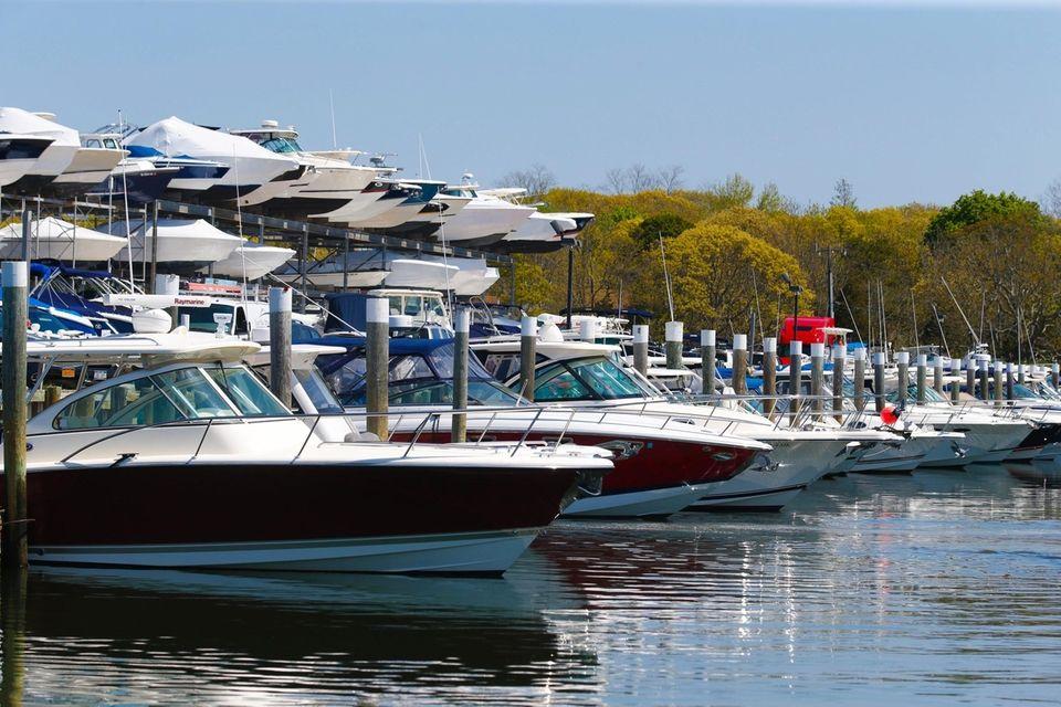The marina is at 2400 Camp Mineola Rd.,