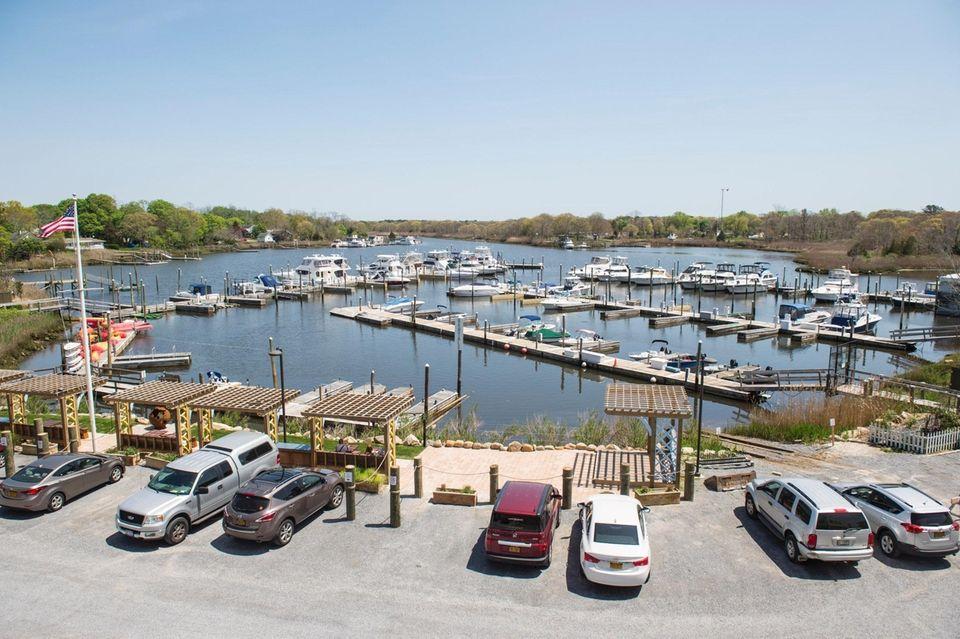 The marina is at 469 E. Main St.,